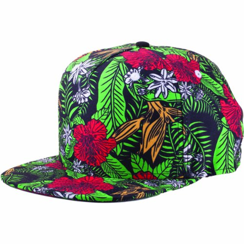 NEFF Aloho Caps Casquette Mixte Adulte, Hibiscus, FR : (Taille Fabricant : Adjustable)
