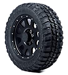 Reinforced compounds contribute to exceptional durability against cuts chips and abrasions Aggressive tread design and strengthened shoulder deliver excellent traction and protection from off-road impact Optimized block design increases off-road trac...