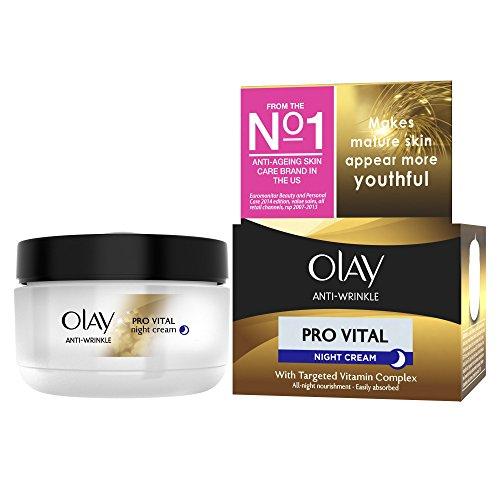 Olay Anti-Wrinkle Mature Skin Night Cream 50 ml (Packaging Varies)