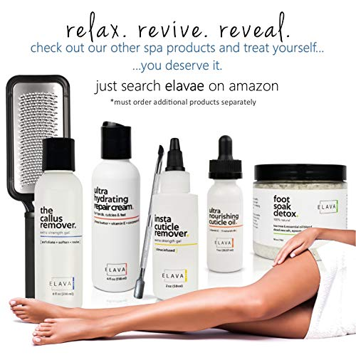 Callus Remover for Feet - Extra Strength. Powerful, Professional Corn & Callus Remover Gel. Exfoliate Dry, Cracked Heels for Baby Soft Feet in Minutes. Spa Pedicure Treatment. Made in the USA