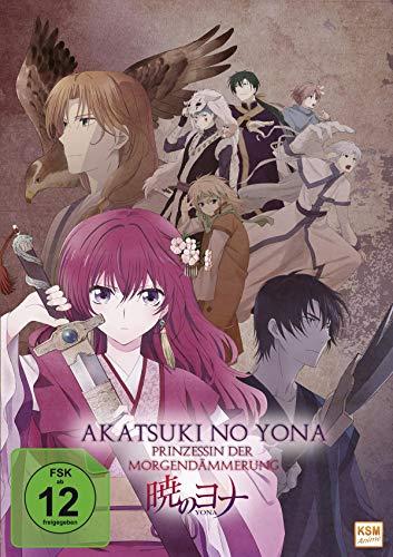 Akatsuki no Yona - Prinzessin der Morgendämmerung - Gesamtedition: Episode 01-24 [5 DVDs]