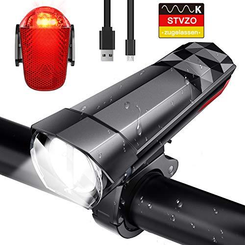 FYLINA - Fahrradbeleuchtung in Schwarz, Größe TC4