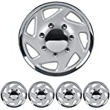 16' Hubcaps Wheel Covers for Ford E-350 E450 Econoline Truck Van Full Lug ABS Wheel Protection (Set of 4)