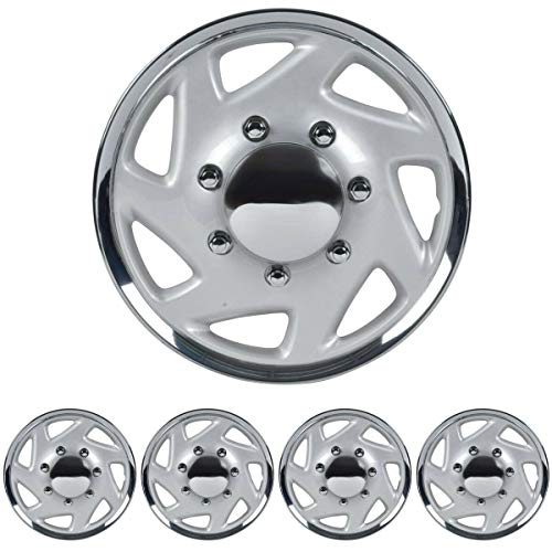 16' Hubcaps Wheel Covers for Ford E-350 E450 Econoline Truck Van Full Lug ABS...