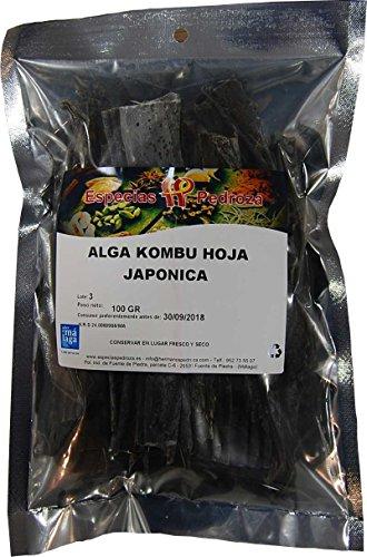 Especias Pedroza Alga Kombu Japónica Hojas - 100 g
