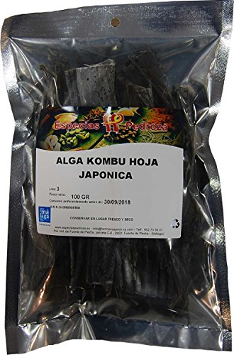 Alga Kombu Japónica Hojas 100 g