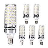 E14 LED Bombillas 9W Equivalentes Halógeno 100W Blanco Frío 6000K Bombillas Maíz E14, AC220-240V No Regulable, Sin Parpadeo Lámparas E14 LED, Ángulo de Haz de 360°, Paquete de 5, Eco.luma