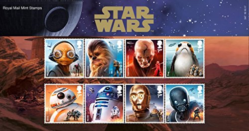 Star Wars The Last Jedi - Presentation Pack Collectible Postage Stamps
