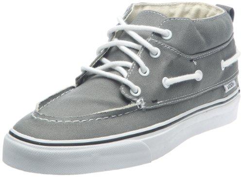Vans Unisex-Erwachsene Chukka Del Barco Sneaker, Grau-Gris (Pewter/Black), 42 EU