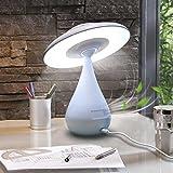 Lampe Tactile de chevet Purificateur d'air ionique Lampe de sommeil 3 en 1 LED...
