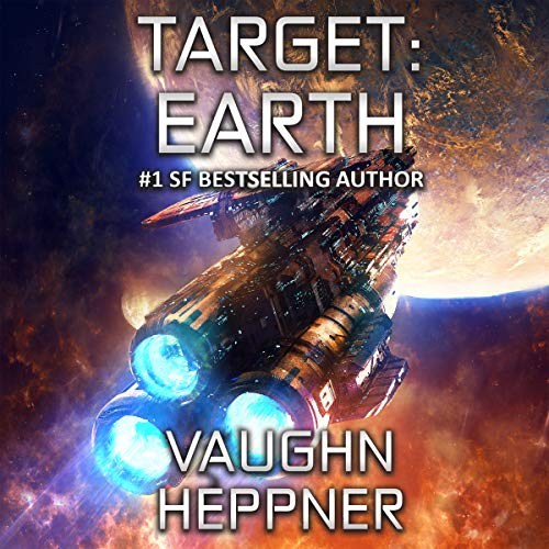 Target: Earth audiobook cover art