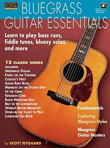 Bluegrass Guitar Essentials: Noten, CD, Lehrmaterial für Gitarre (Acoustic Guitar Private Lessons)