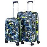 Lois - Juego de Maletas de Viaje Rígidas 4 Ruedas Trolley 55/66 cm abs....