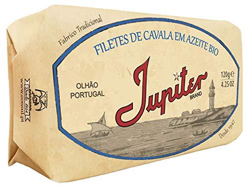 Jupiter from Portugal - Gourmet Canned Mackerel Fillet in Biolog