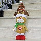 Pan-EXstore Articulos de Navidad Gran tamaño de pie Estilo de Navidad decoración casera Alces muñeca...