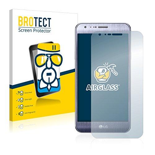 BROTECT Panzerglas Schutzfolie kompatibel mit LG X Cam - AirGlass, extrem Kratzfest, Anti-Fingerprint, Ultra-transparent