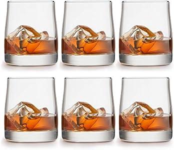 Libbey Vasos para Whisky Gles - 280 ml / 28 cl - 6 Piezas diseño Lujoso - Apto para lavavajillas