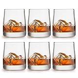 Libbey Vasos para whisky Gles - 280 ml / 28 cl - 6 piezas - alta calidad - diseño lujoso - apto para lavavajillas