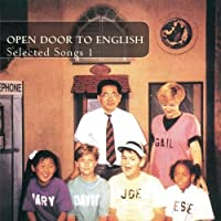 Open Door to English-Selected Songs 1 by Julia Johnson