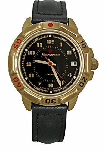 Vostok KOMANDIRSKIE 439123/2414un militar Military Comandante KOMANDIRSKIE reloj