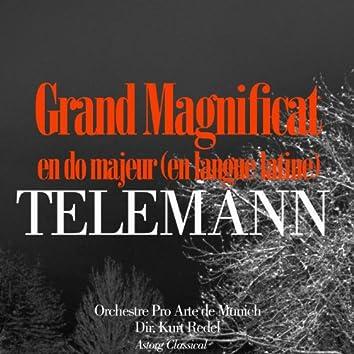 Telemann: Grand Magnificat en do majeur (En langue latine)