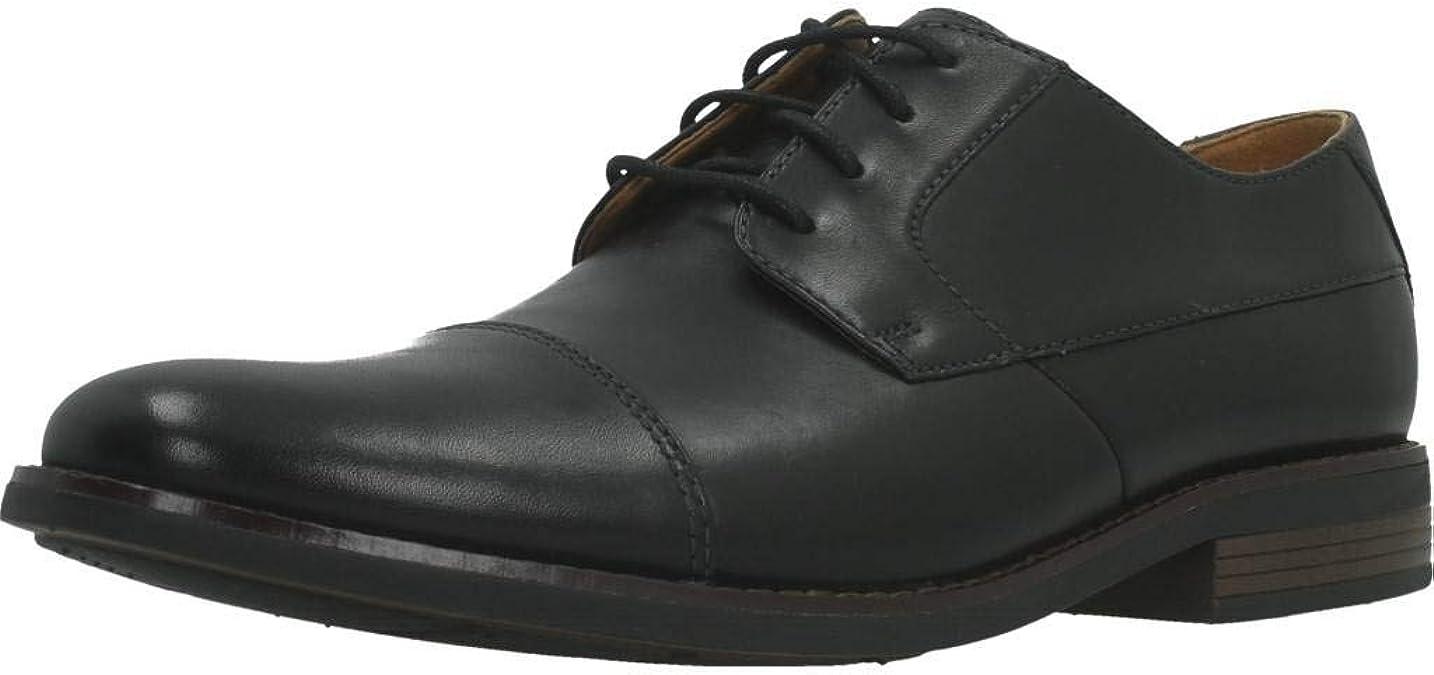 Clarks Becken Cap, Zapatos de Cordones Derby Hombre