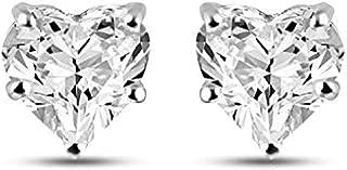 Best heart shaped diamond earrings Reviews