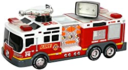 "Toy State 14"" Rush And Rescue Police And Fire - Pumper Fire Truck"