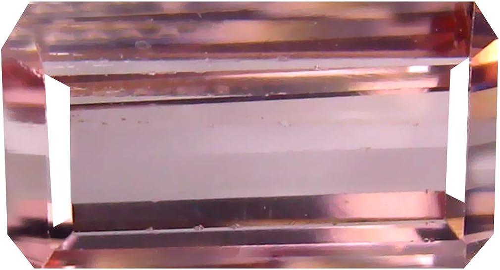 2.97 ct Octagon Cut New popularity 10 x Un-Heated Natura Pink Tourmaline mm 6 Max 80% OFF