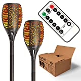 Best Led Torches - Solar Tiki Torch Lights - Remote Controlled Flickering Review