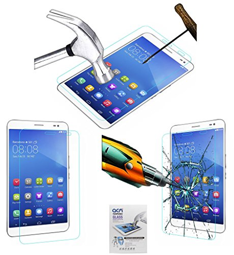 ACM Tempered Glass Screenguard Compatible with Huawei Honor X1 7 Tablet Screen Guard Scratch Protector