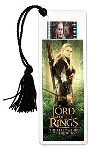Legolas Bookmark - Lord of The Rings - Fellowship of The Ring - Features Real Clip of 35mm Film from Lord of The Rings Movies