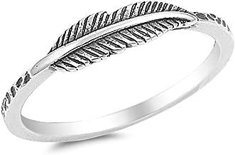 Best leaf ring sterling silver Reviews