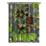 Nickelodeon Teenage Mutant Ninja Turtles Crash Landing Shower Curtain