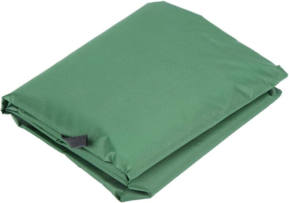 Dark Brown Seat Cushion Cover,Seat Cover Swing Hammock 3‑Seat Cushion Cover Courtyard Garden Swing with Waterproof Fabric Protection Cushion 1505010cm