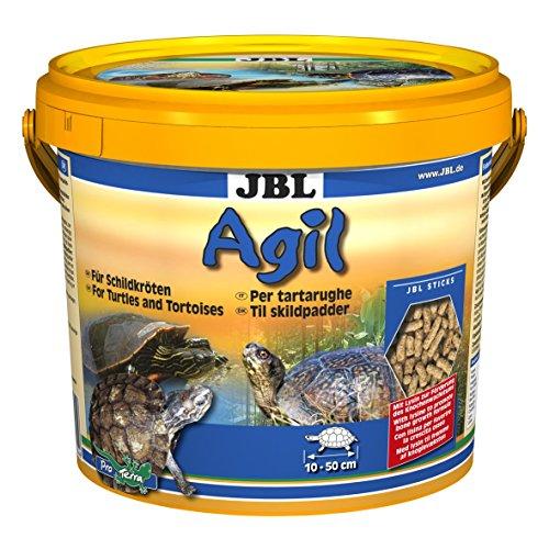 JBL Agil 70344, Hauptfutter für Wasserschildkröten von 10 - 50 cm, Futtersticks, 2,5 l