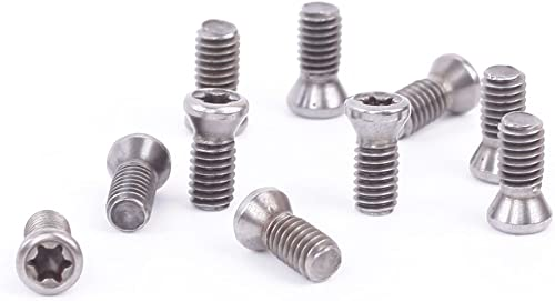 discount 10pcs online sale M4 2021 × 10 Screw - type mechanical clamping screws + 1 wrench T15 outlet sale