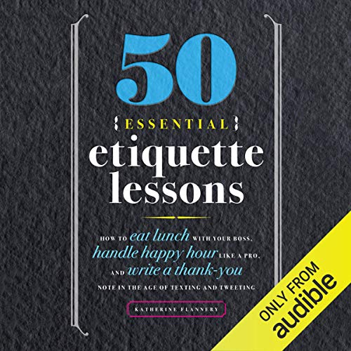 50 Essential Etiquette Lessons cover art