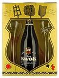 Coffret Kwak 1 * 75cl + 2 verres plats