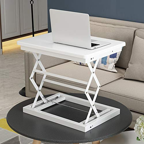 WSJIANP Laptop Desktop Table,Height-adjustable Laptop Table,Portable Breakfast Tray With Foldable Legs,Office Desk