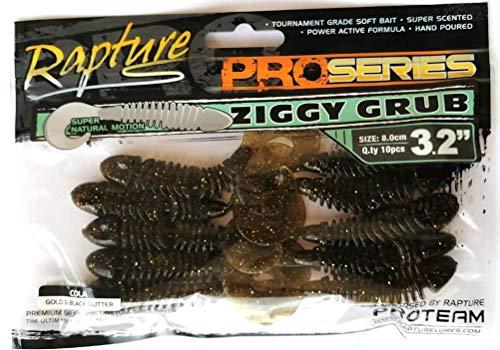 Rapture Ziggy Grub 3.2'' 8 cm Couleur queue pour la...