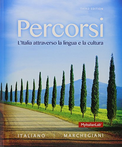 Percorsi: L'Italia attraverso la lingua e la cultura; MyItalianLab with Pearson eText -- Access Card -- for Percorsi: L'