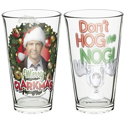 Zak Designs Collectibles Pint Glasses, 16oz 2 Piece, Christmas Vacation