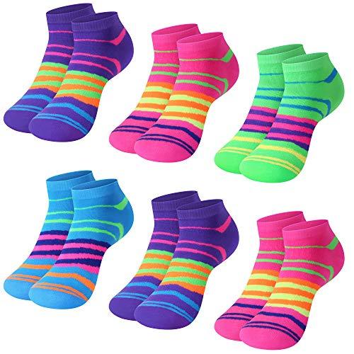 L&K-II 12 Paar Bambus Damen Sneaker Socken Füßlinge EDS92238 35/38