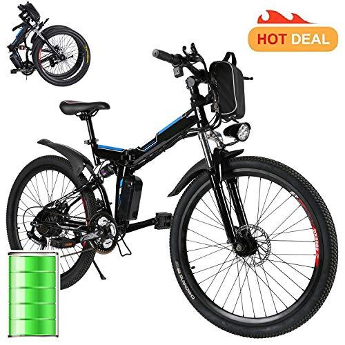 Miageek 26-inch Folding E-Bike