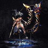 Bck 20cm Handmade Model Desktop Model Anime Fate/Archer Ishtar Tohsaka Rin Figure Statue Goddess of War PVC Action Model Toys Doll Favorite Statue Gift