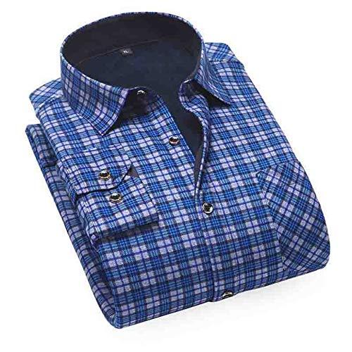 Men's Flannel Long Sleeve Button Up Shirt Plaid Flannel Shirts