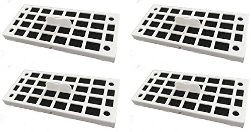 Nispira Replacement Air Deodorizer Filter Compatible with GE Cafe Series Refrigerator ODORFILTER - 4 Filters