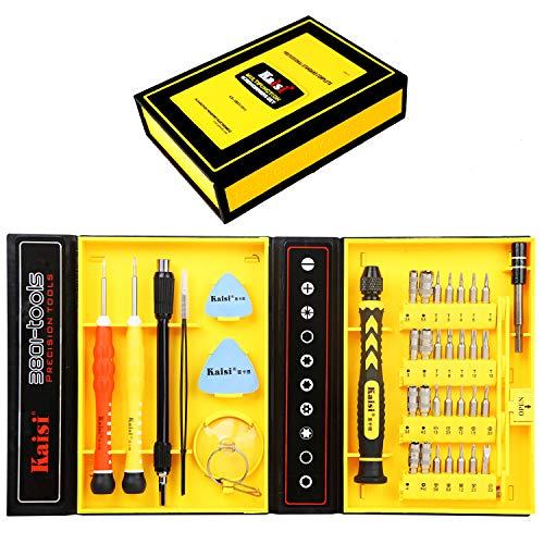Kaisi 38-Piece Magnetic Screwdriver Set Precision Toolkit - Electronics, Cellphone, Computer, Laptops & Tablets Repair Kit