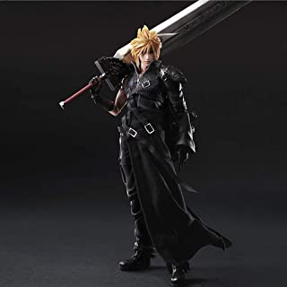 ASJHK Video Game Final Fantasy 7 Claude Streep Model Statue Anime Ornament High 26cm Toy Statue
